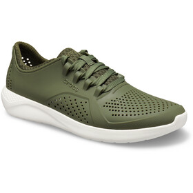 Crocs LiteRide Pacer Shoes Herren army green/white